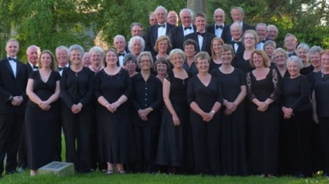 Group photo of Ross Choral Society
