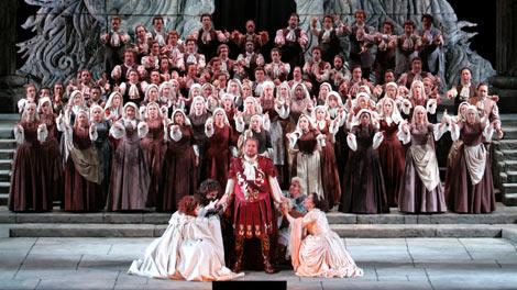 Scene from Idomeneo