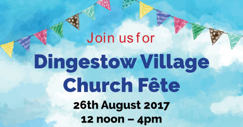 Poster for Dingestow Fete