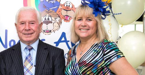 vice chair of the Noah's Ark Charity, Julie Hayward