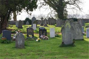 St Bartholomew's churchyard, Much Marcle