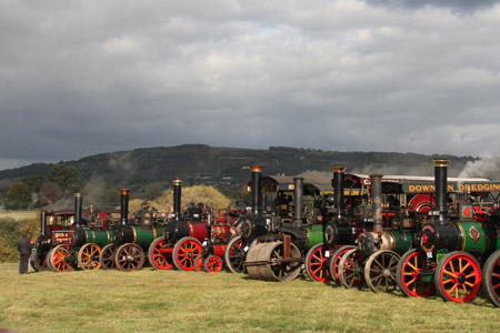 Old steam vehicles