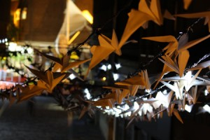 Luminous Birds art installation