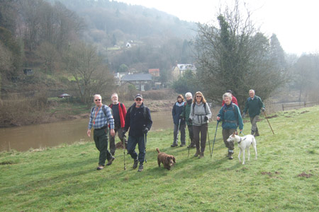 Monmouth walkers welcome photo