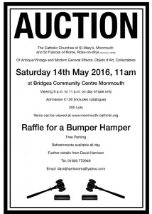 Poster for Auction 14 May 2016