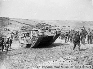 Tanks at Flers-Courcelette