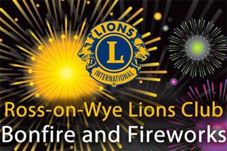 Ross Lions Bonfire poster