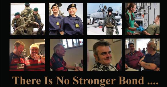 Poster for Veterans breakfasst club in Lydney