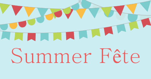 Poster for St Mary's summer fete