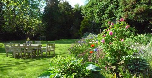 garden in Usk