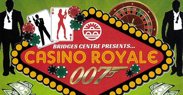 Poster for fundraiser Casino Royale