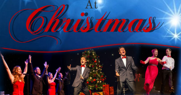 The West End At Christmas poster