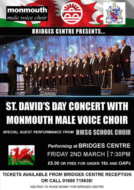 St David's Concert poster