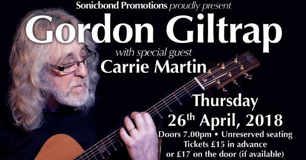 Gordon Giltrap guitarist