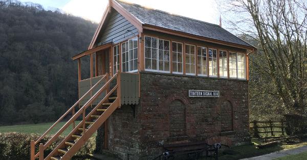 Tintern Old Station signal box