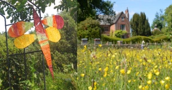 Hellens garden festival photo with meadow