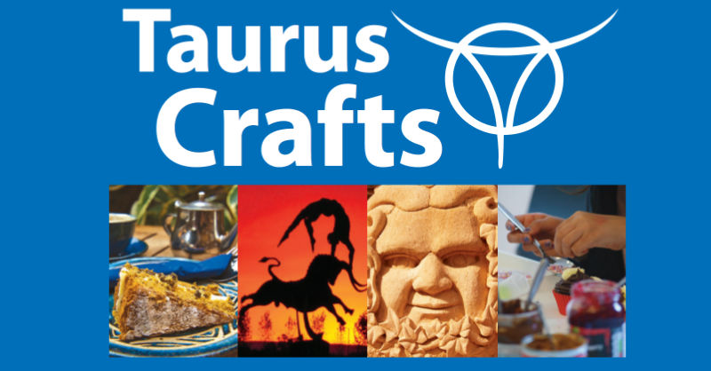 Poster for Taurus crafts, Lydney