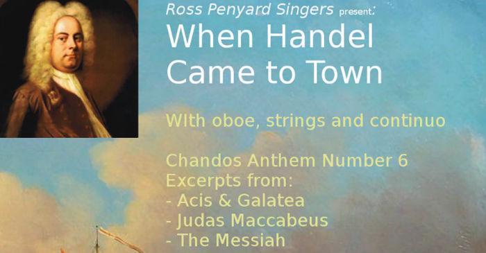 Ross Penyard Singers poster