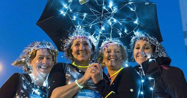 Chepstow Walkers Light Up the Night Charity Walk