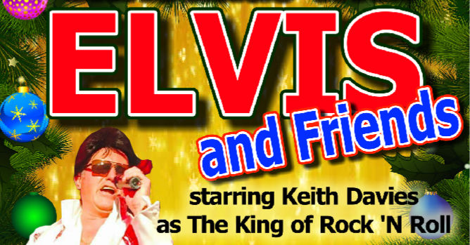 Elvis and friends poster