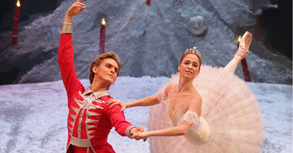 Bolshoi Ballet dancers performing The Nutcracker