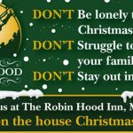 Robin Hood Christmas Dinner poster