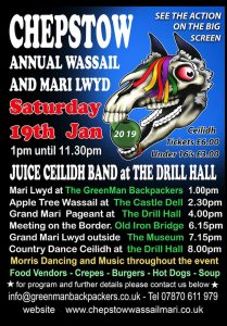 Chepstow Wassail and Mari Lwyd 2019 full poster