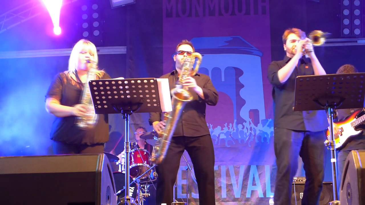 mighty pledge band at Monmouth festival