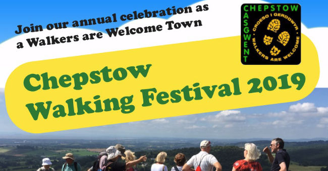 Walkers are Welcome Chepstow 2019 poster crop