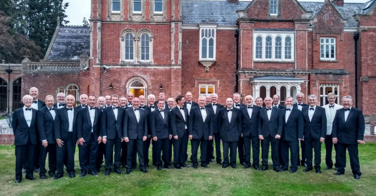 Monmouth Male Voice Choir at Rolls of Monmouth 2018