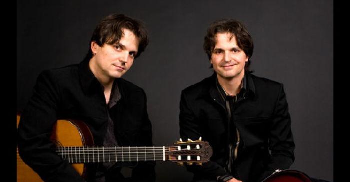The Katona Twins guitar Péter and Zoltán
