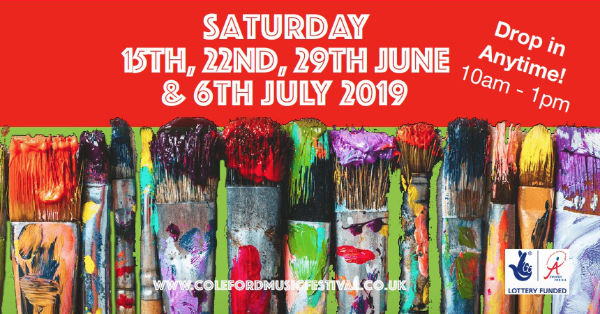 Coleford art workshops